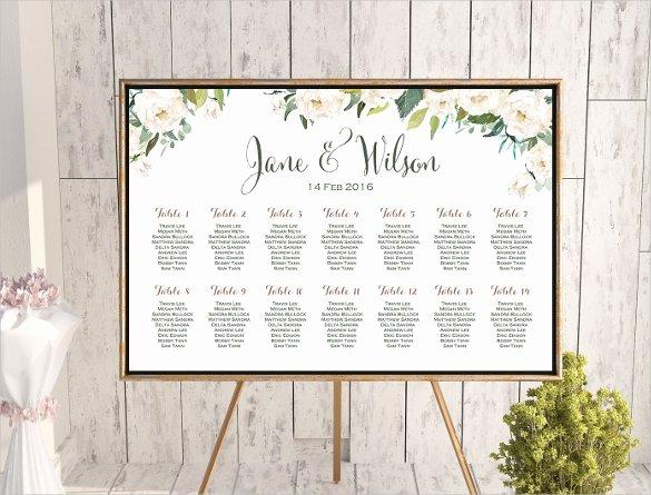 34 Wedding Seating Chart Templates Pdf Doc