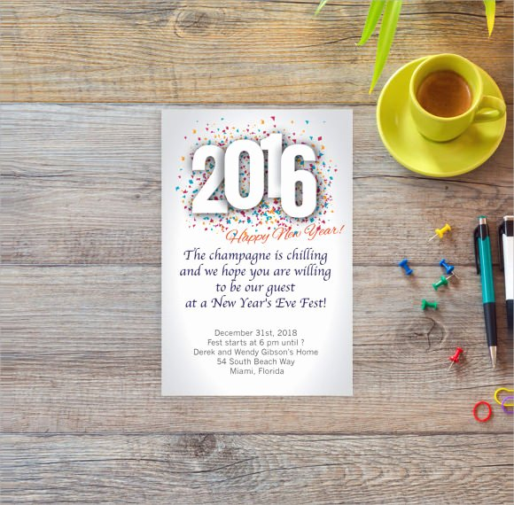 35 Amazing New Year Party Flyer Templates to Download