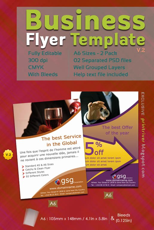 35 attractive Free Flyer Templates and Designs for