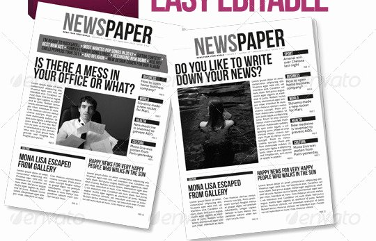 35 Best Newsletter Templates Tutorial Zone