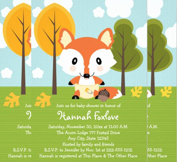 35 Diaper Invitation Templates – Psd Vector Eps Ai