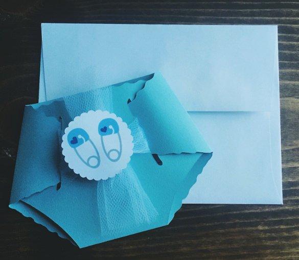 35 Diaper Invitation Templates – Psd Vector Eps Ai