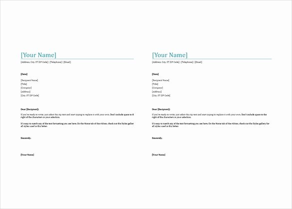 35 Free Download Letterhead Templates In Microsoft Word