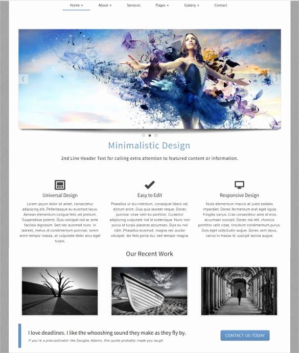 35 Free PHP Website Templates & themes