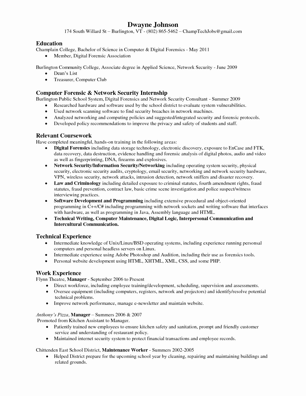 35 Great associate Degree Resume Sample Zx O