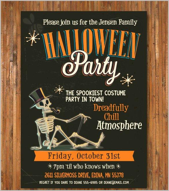 35 Halloween Invitation Free Psd Vector Eps Ai