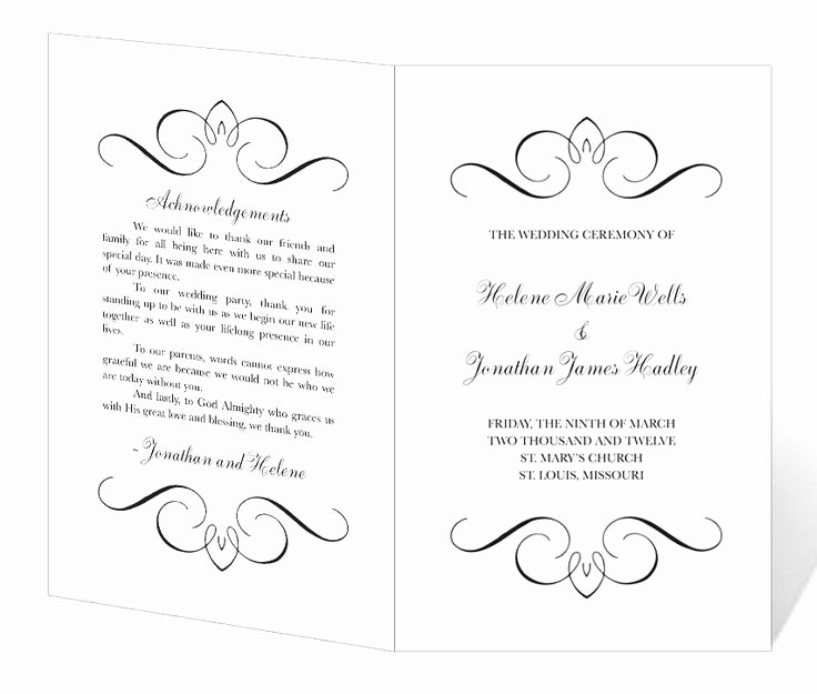 35 Lovely Free Printable Church Bulletin Templates
