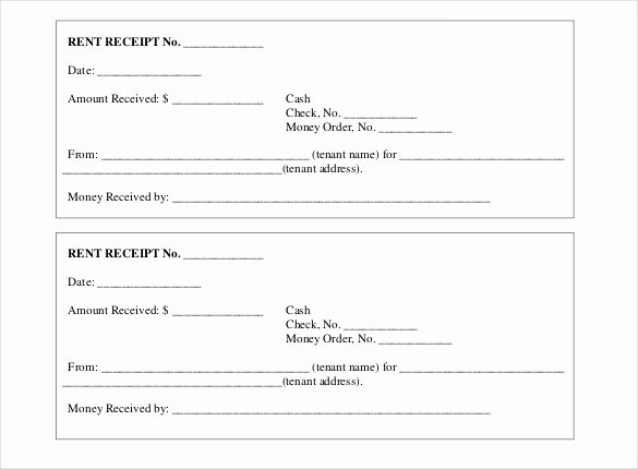 35 Rental Receipt Templates Doc Pdf Excel