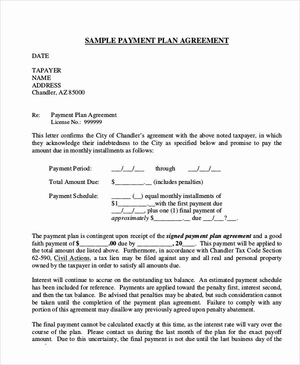 36 Agreement Letter Examples