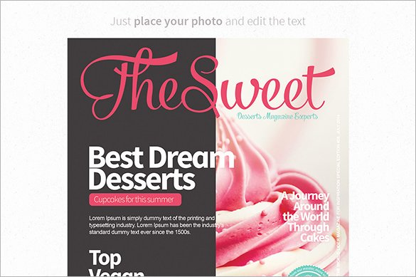 36 Magazine Cover Template Free Sample Example format