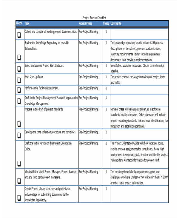 36 Printable Checklist Templates