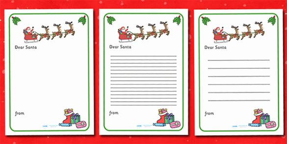 37 Christmas Letter Templates Free Psd Eps Pdf format