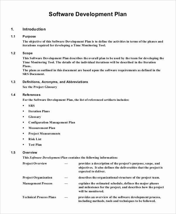 37 Development Plan Samples Pdf Word