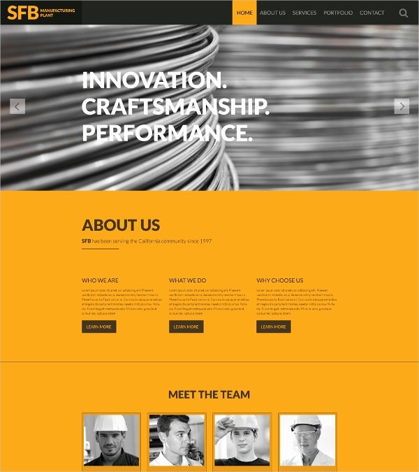 37 E Page Website themes & Templates
