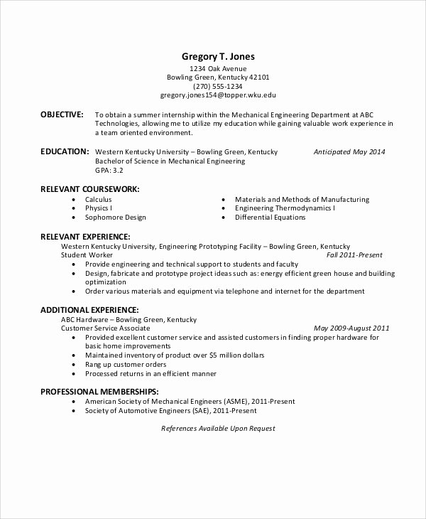 37 Engineering Resume Examples