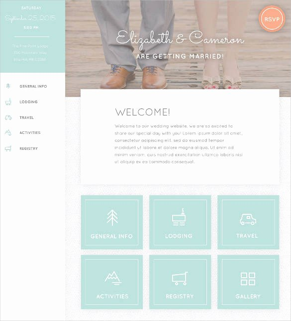 37 Free Wedding Website themes & Templates