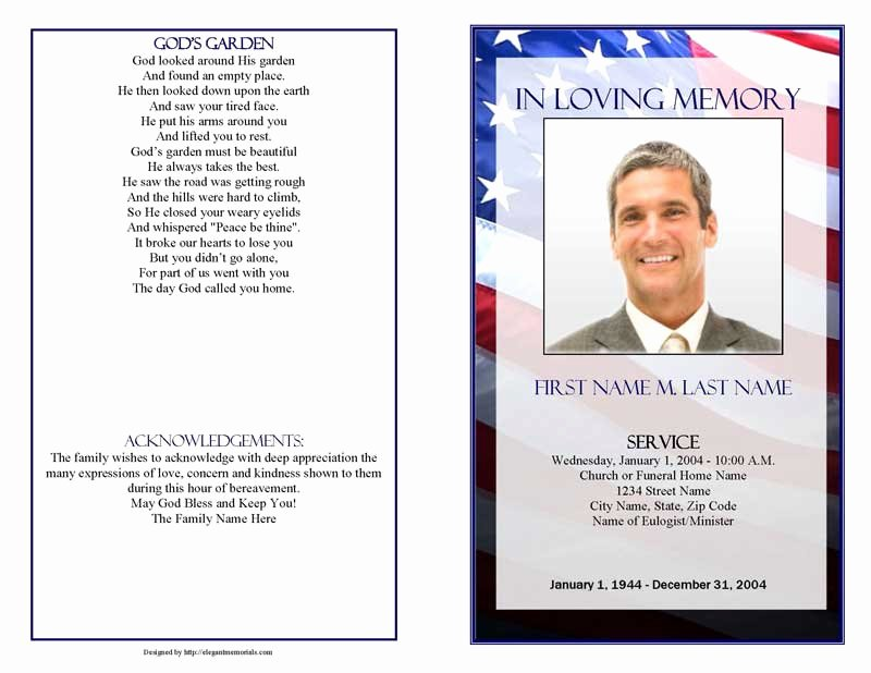 37 Funeral Programs Templates Microsoft Word 8 Free