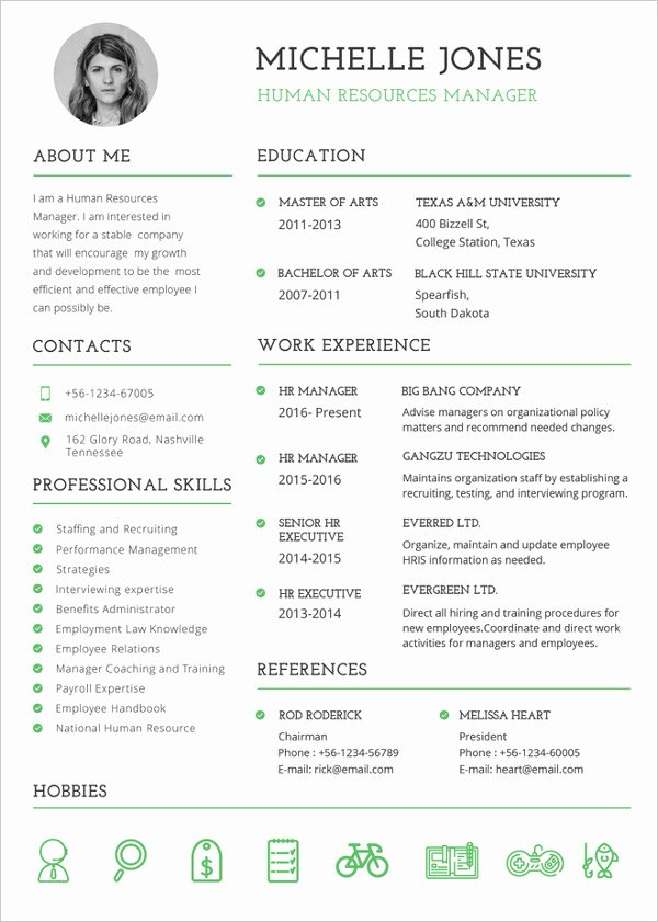 37 Resume Template Word Excel Pdf Psd