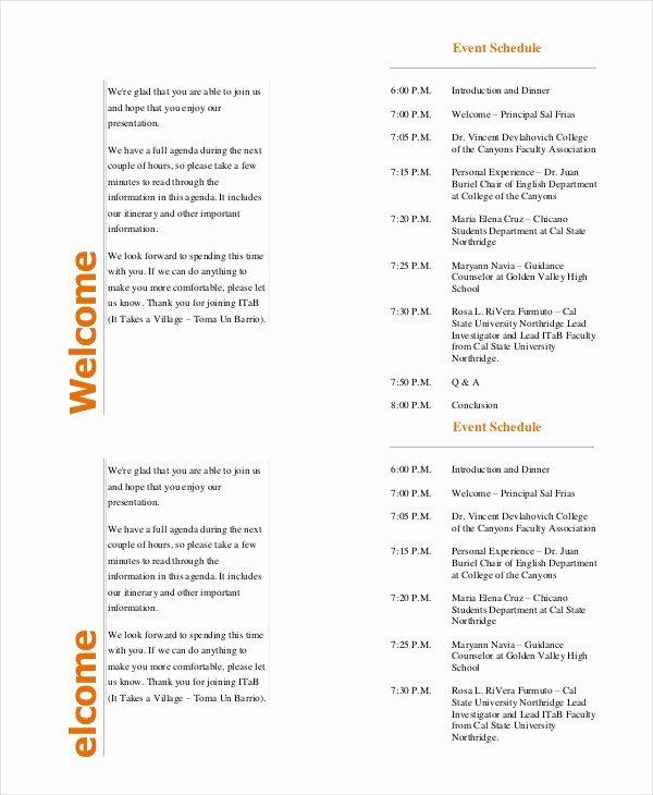 37 Sample event Program Templates Psd Ai