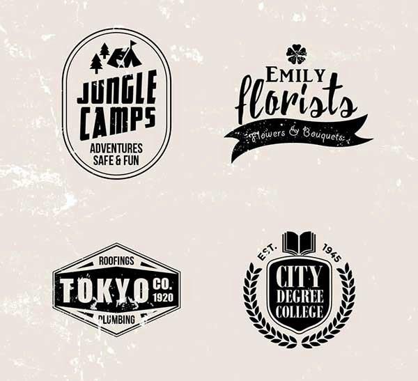 37 Vintage Logo Templates Free Psd Download