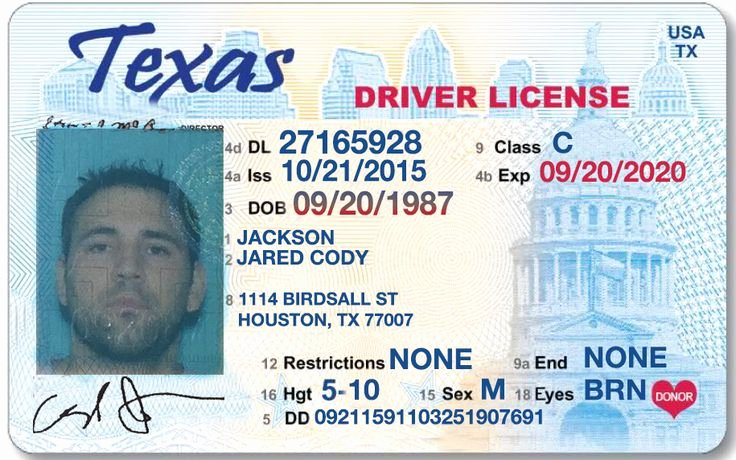 38 Best Driver License Templates Photoshop File Images On
