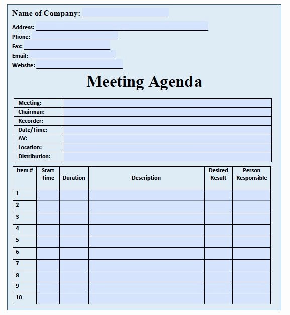 38 E E Meeting Agenda Template E E Meeting