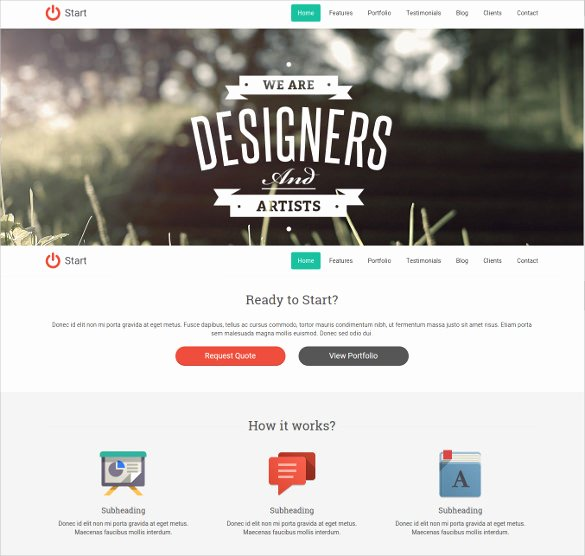 38 E Page Website themes & Templates