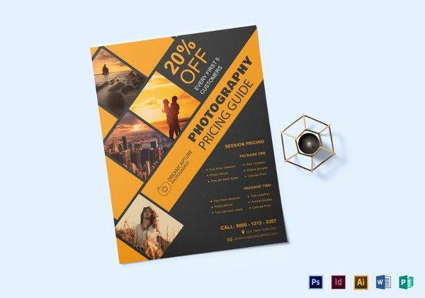 38 Graphy Flyer Templates Psd Vector Eps Jpg