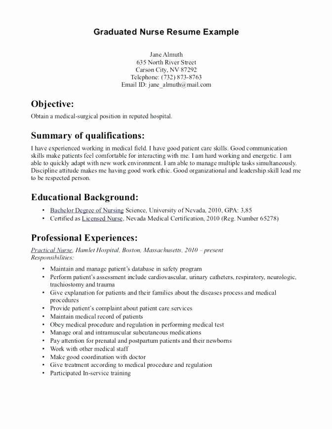nicu nurse resume example  latter example template