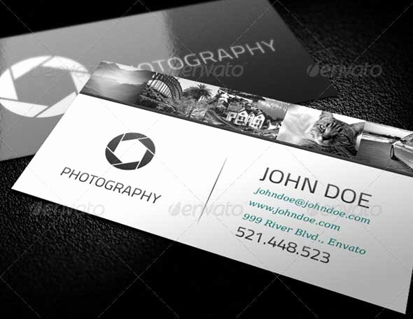 39 Best Graphy Business Cards In Psd Templates