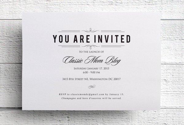 39 event Invitations Designs & Templates Psd Ai