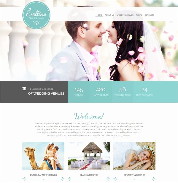 39 Wedding Website themes & Templates