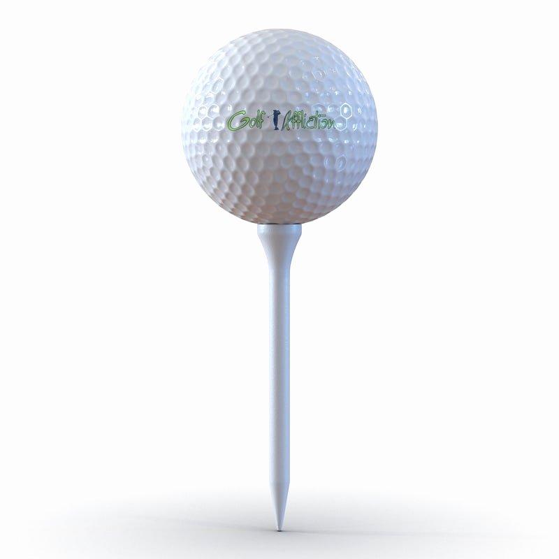 3d 3ds Golf Ball Tee