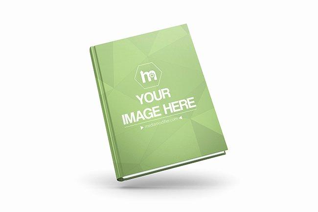 3d Book Cover Line Mockup Mediamodifier Free Line