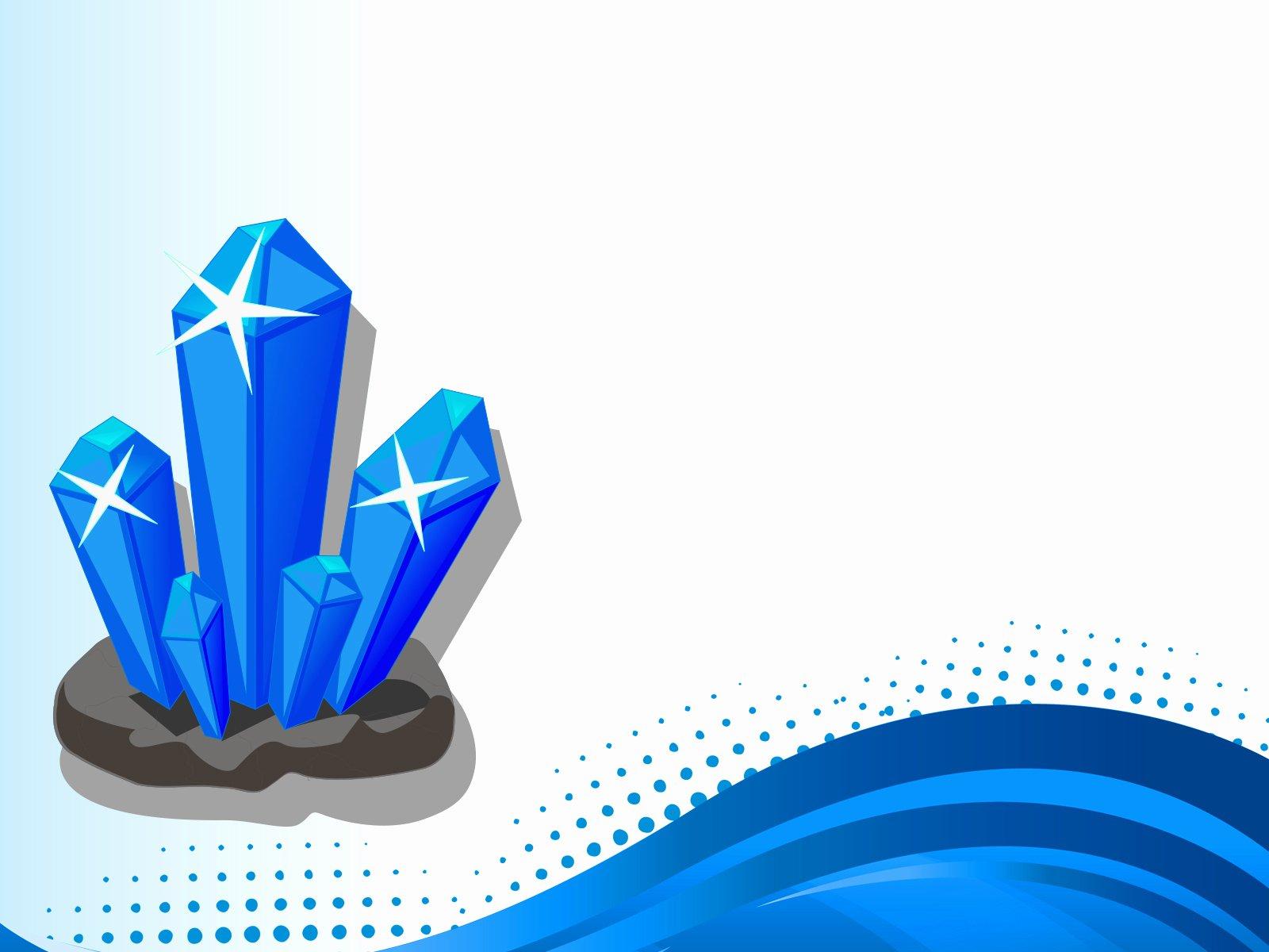3d Crystal Backgrounds 3d Blue Templates