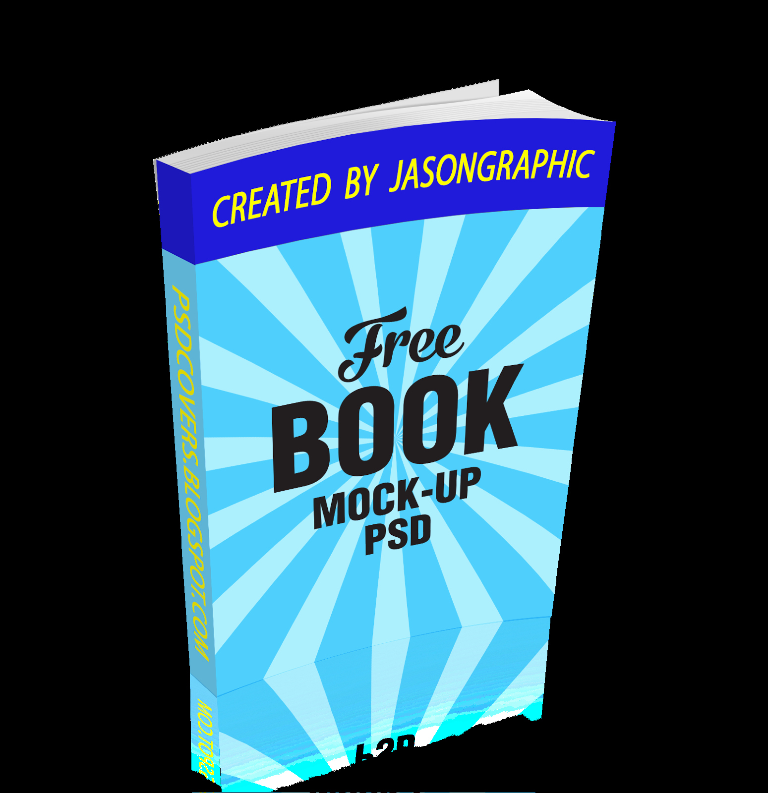 3d Ebook Cover Action Paperback Free Psd Cover