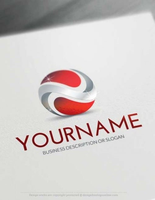 3d Logos Create 3d Logo Line with Our Free Logo Maker