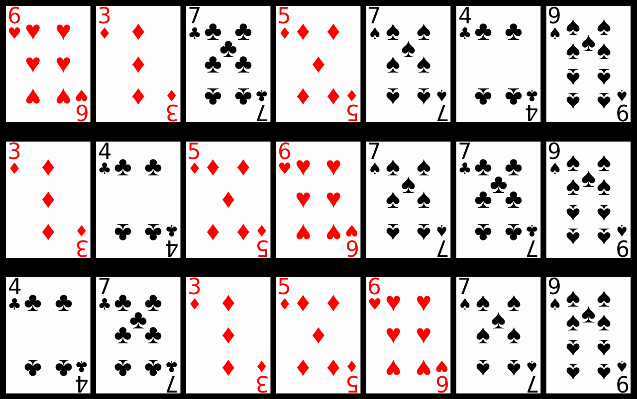 4 Best Of Deck Playing Cards Printable