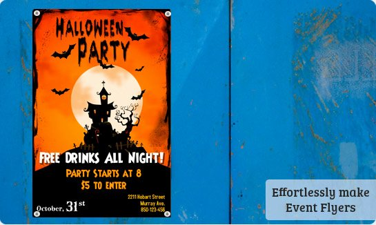 post free printable halloween flyer templates