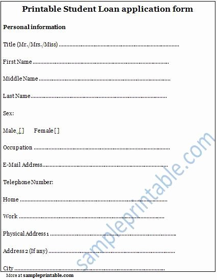 4 Best Of Free Printable Scholarship Application