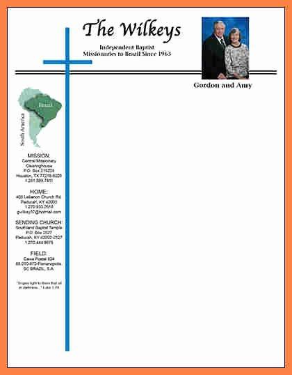 4 Church Letterhead Templates