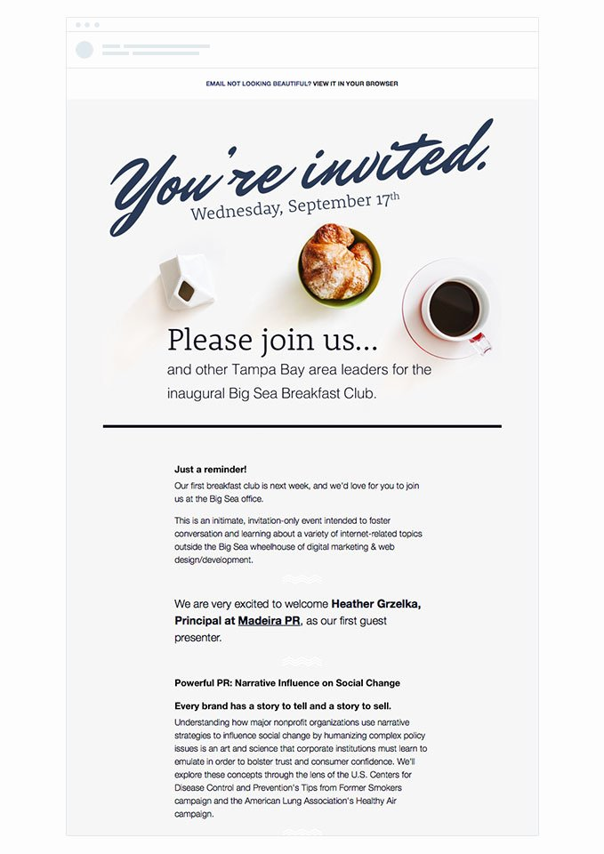 4 event Invitation Emails that Draw Crowds