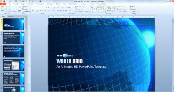 4 Examples Of Awesome Professional Powerpoint Templates