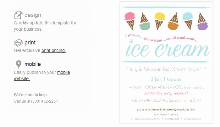 4 Ice Cream social Flyer Templates