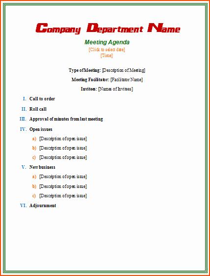 4 Informal Meeting Bookletemplate