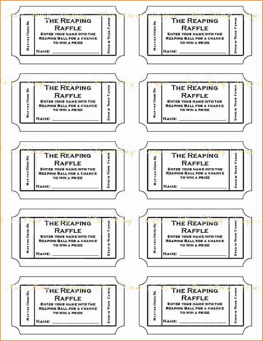 photograph relating to Printable Ticket Template identified as Blank Carnival Tickets Ticket Template Cost-free Printable