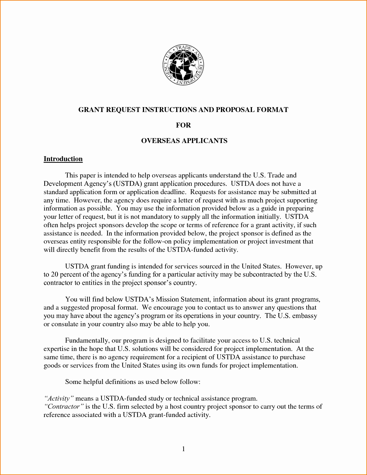 4 Proposal Letter format