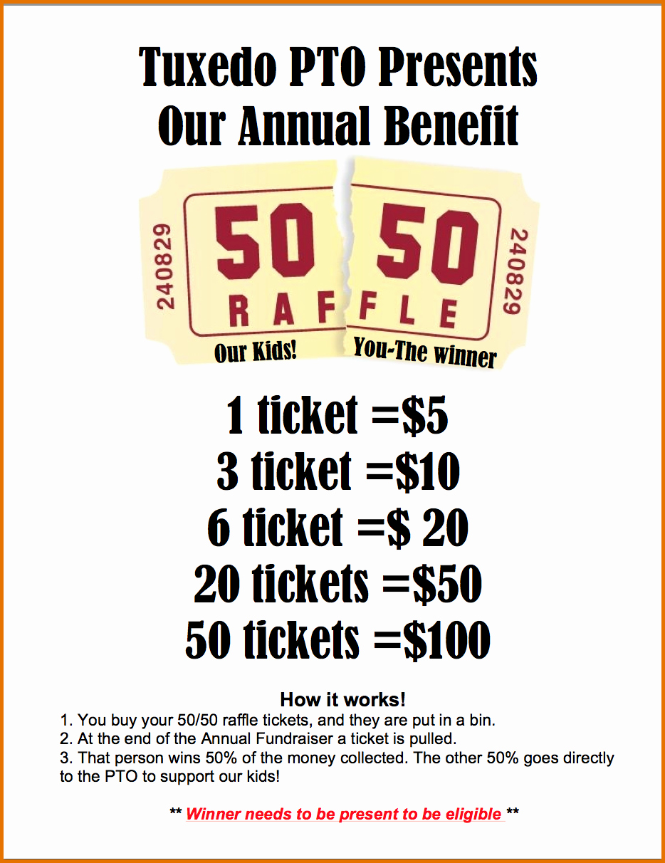 4 Raffle Flyer Templatereference Letters Words