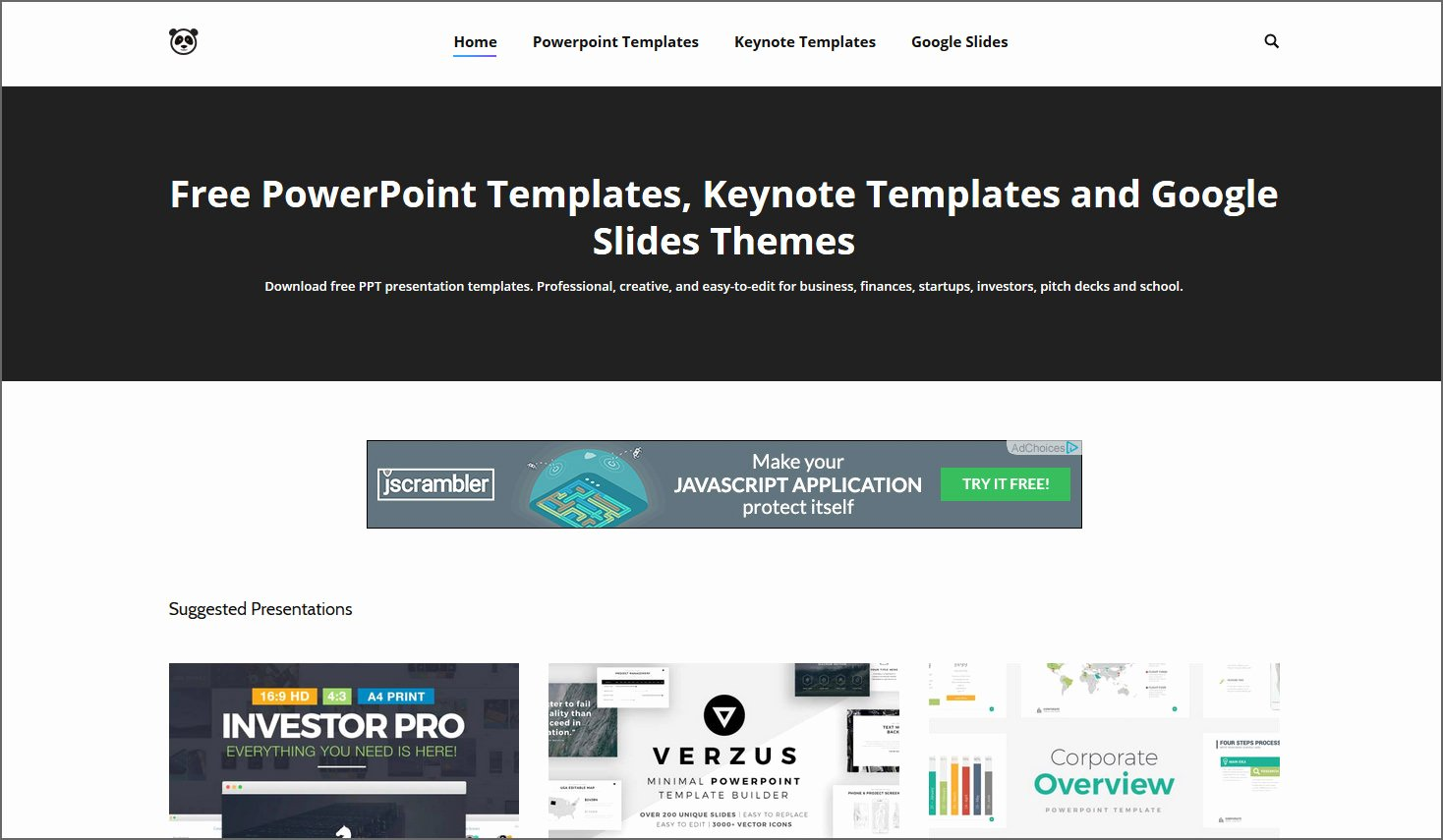 4 Sites with Free Beautiful Powerpoint Templates Keynotes