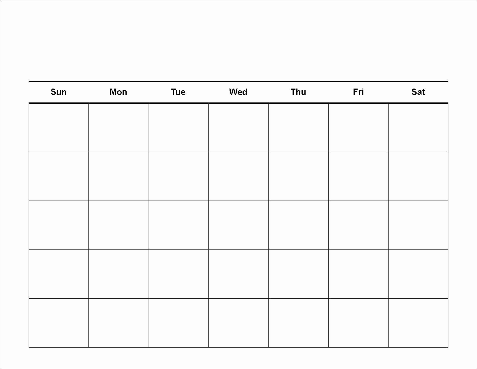 4 Weekly Calendar